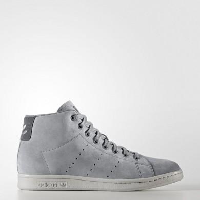 online store 5b82e 55d3d Mujer  Hombre Adidas Originals Stan Smith Zapatos Intermedios Gris Three   Gris Three  Gris