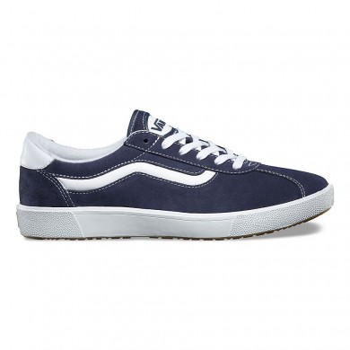 Hombre Vans Varsity Sport '73 Wally 3 Zapatos Azul marino / True Blancas