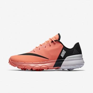 Zapatillas de golf Mujer Nike FI Flex 849973-600 Lava Glow / Blancas / Anthracite