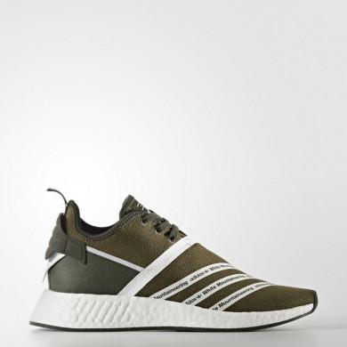 Adidas Originals Blancas Mountaineering NMD_R2 Primeknit Zapatos Mujer Hombre Trace Olive / Calzado Blancas CG3649