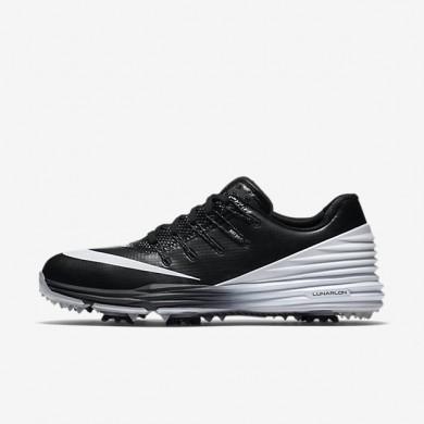 Zapatillas de golf Nike Lunar Control 4 Mujer 819034-001 Negro / Wolf Gris / Blancas
