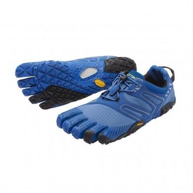 Vibram Fivefingers V-Trail Hombre Azul Negro