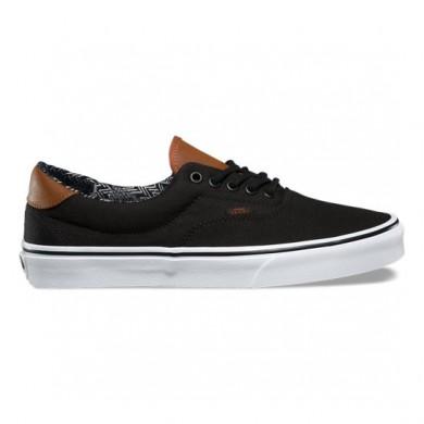 Vans C & L Era 59 Zapatos Negro Mujer
