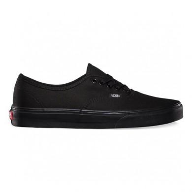 Hombre Vans Authentic Zapatillas Negro