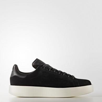 Adidas Originals Stan Smith Bold Zapatos Mujer Core Negro / Core Negro / Off Blancas CG3775