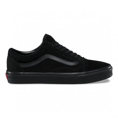 Vans Suede Old Skool Zapatos Mujer Negro