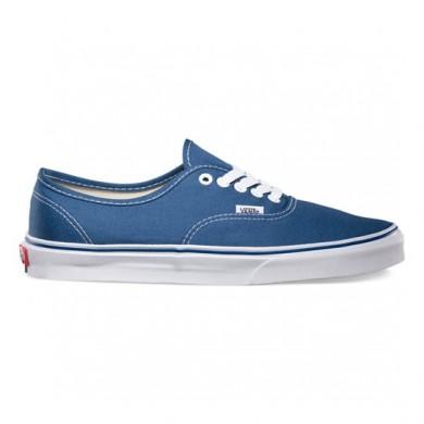 Hombre Vans Authentic Zapatillas Azul marino