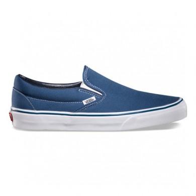 Hombre Vans Classic Slip-On Zapatillas Hombre Azul marino