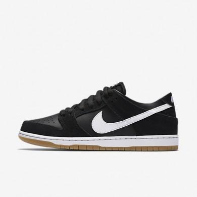 Zapatillas de skate Nike SB Dunk Low Pro para hombre 854866-019 Negro / Gum Ligero Marrón / Blancas
