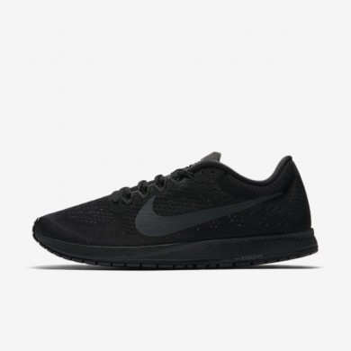 Zapatillas de running Nike Zoom Streak 6 Mujer/Hombre 831413-001 Negro / Gris oscuro