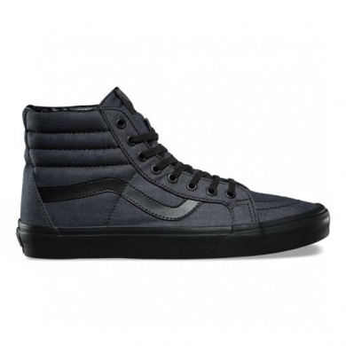 Vans Mono Chambray SK8-Hi Reedición Zapatos Negro Mujer
