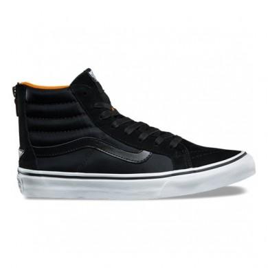 Zapatillas Mujer Vans Boom Boom SK8-Hi Slim Negro / True Blancas