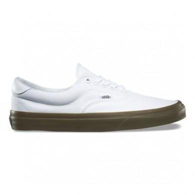 Vans Bleacher Era 59 Zapatos True Blancas / Gum Mujer