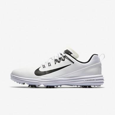Zapatillas de golf Nike Lunar Command 2 Hombre 849968-100 Blancas / Blancas / Negro