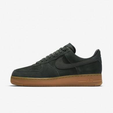 Zapatillas Nike Air Force 1 07 LV8 Hombre Outdoor Verde / Gum Medium Marrón / Marfil / Outdoor Verde AA1117-300