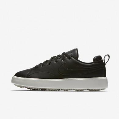 Zapatillas de golf Mujer Nike Course Classic 904680-001 Negro / Sail / Negro