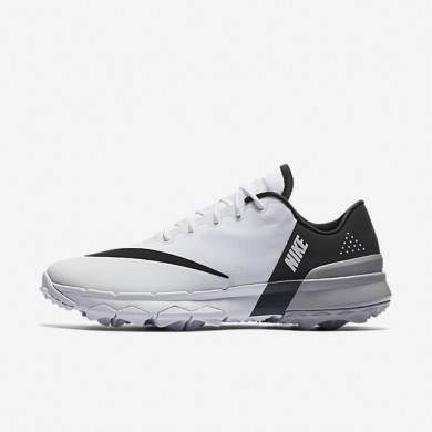 Zapatillas de golf Nike FI Flex Mujer 849973-101 Blancas / Antracita / Wolf Gris / Negro