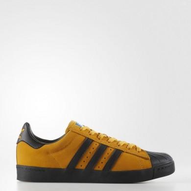 Adidas Originals Superstar ADV Zapatos Hombre Tactile Amarillo / Core Negro / Azulbird CG4505