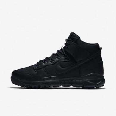 Bota Nike SB Dunk High Hombre 536182-001 Negro / Negro