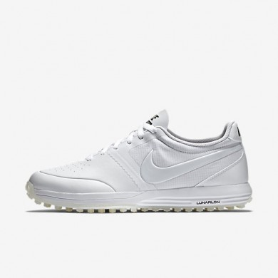 Zapatillas de golf Hombre Nike Lunar Mont Royal 652530-102 Blancas / Blancas / Blancas