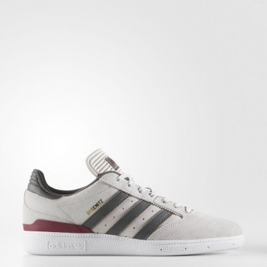 Adidas Originals Busenitz Pro Zapatos Hombre Gris One / Customized / Collegiate Burgundy BY3964