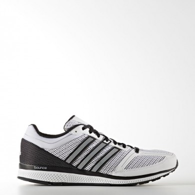 Zapatillas Adidas Running Mana RC Bounce Hombre Blancas / Blancas / Core Negro B72974