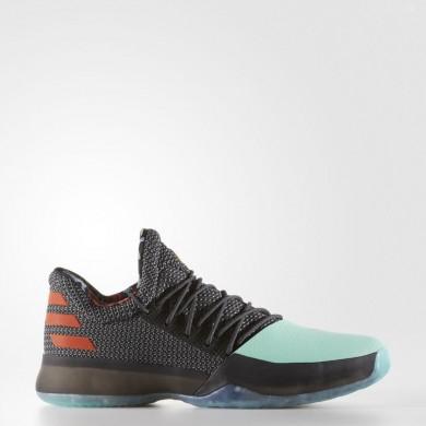 Baloncesto Adidas Harden Vol. 1 Zapatos Hombre Core Negro / Easy Verde / Energy BW1573