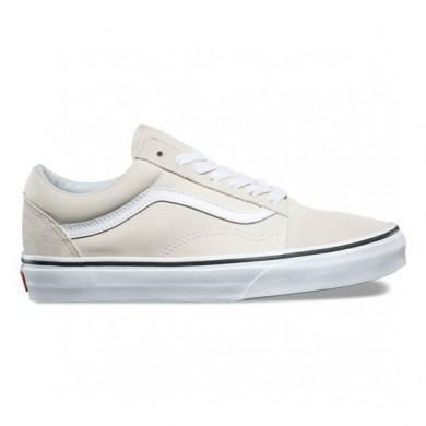 Vans Old Skool Zapatos Mujer Birch / True Blancas