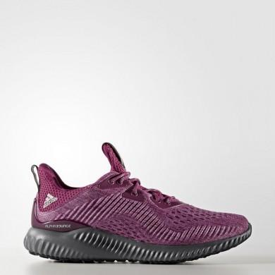 Mujer Running Adidas alphabounce EM Zapatillas Mystery Ruby / Bahia Magenta / Gris Five BW1192