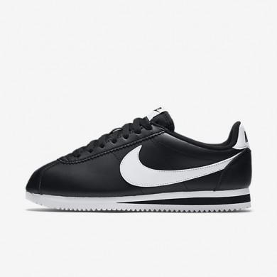 Zapato Mujer Nike Classic Cortez 807471-010 Negro / Blancas / Blancas