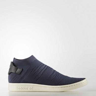Mujer Adidas Originals Stan Smith Shock Primeknit Zapatos Trace Azul CG2873
