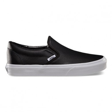 Vans Perf Leather Slip-On Negro Mujer