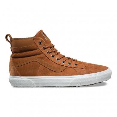 Furgonetas SK8-Hi 46 MTE DX Zapatos Hombre Glaseado de jengibre / Franela