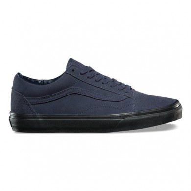 Vans Suede Old Skool Zapatos Hombre Azul marino / Negro