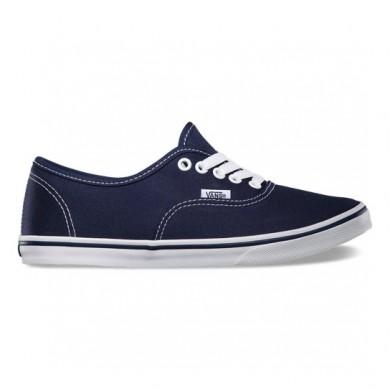 Vans Authentic Lo Pro Zapatos Mujer Azul marino / True Blancas