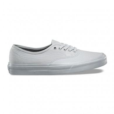 Excedente mujer Vans Mono zapatos auténticos Off Blancas