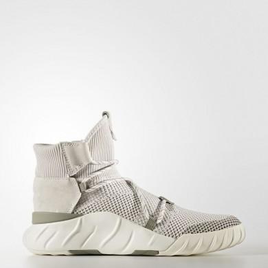 Adidas Originals Tubular X 2.0 Primeknit Zapatos Mujer Beige / Pearl Gris / Pearl Gris / Off Blancas BY9748
