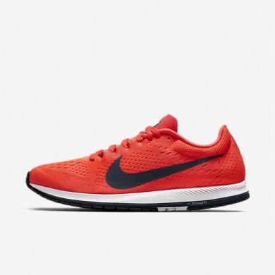 Zapatillas de running Nike Zoom Streak 6 Hombre Mujer 831413-614 Bright Crimson / Blancas / Azul Fox