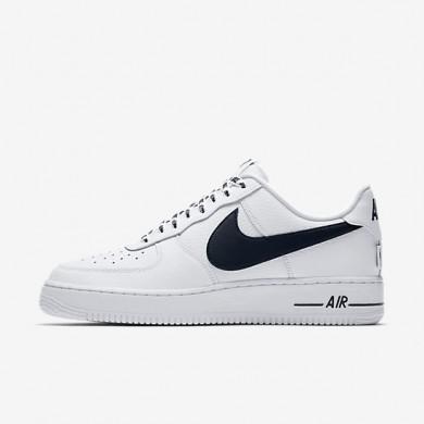 Zapatillas Hombre Nike Air Force 1 Low 07 NBA 823511-103 Blancas / Negro