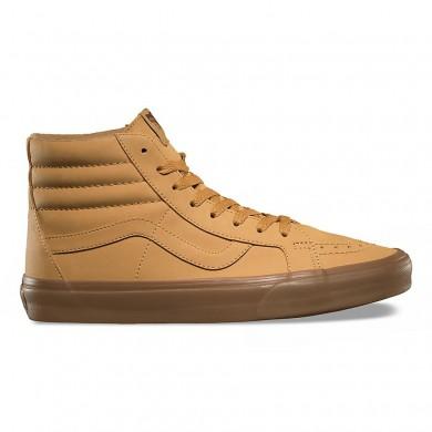 Vans Vansbuck SK8-Hi Reedición Zapatos Mujer Ligero Gum / Marrón