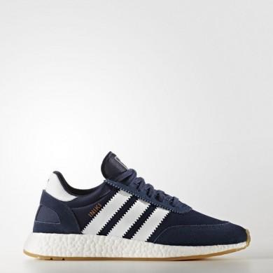 Zapatillas Adidas Originals Iniki Runner Hombre Mujer Colegialas Azul marino / Calzado Blancas / Goma BY9729