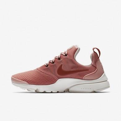 Zapatillas Nike Presto Fly Mujer 910569-601 Rojo Stardust / Summit Blancas / Siltstone Rojo / Dusty Peach