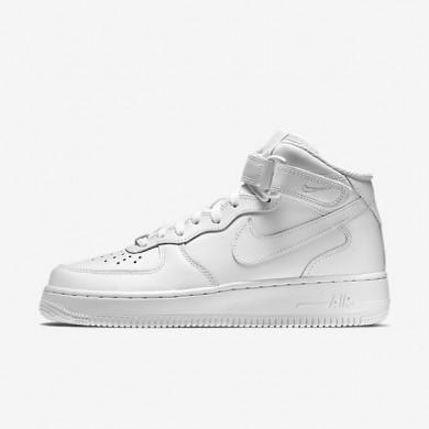 Zapatillas Nike Air Force 1 Mid '07 Mujer 366731-100 Blancas / Blancas