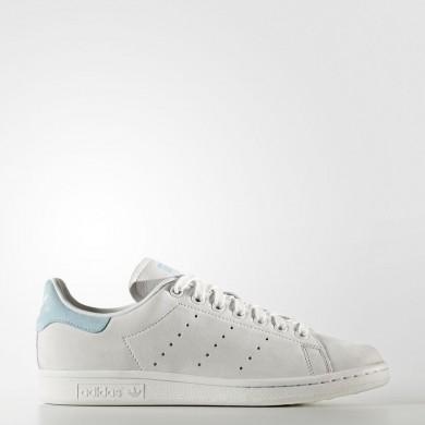 Adidas Originals Stan Smith Zapatos Mujer Crystal Blancas / Crystal Blancas / Icey Azul