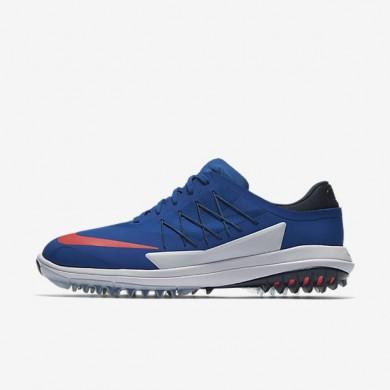 Zapatillas de golf Nike Lunar Control Vapor Hombre 849971-401 Azul Jay / Armory Azul marino / Blancas / Solar Rojo