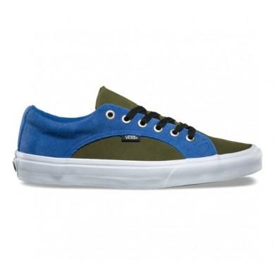 Vans Suede Lampin Zapatos Hombre Delft / Winter Moss