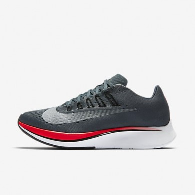 Zapatillas de running Nike Zoom Fly Mujer 897821-400 Azul Fox / Bright Crimson / Universidad Rojo / Ice Azul