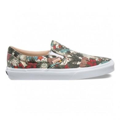 Vans Havana Floral Classic Slip-On Zapatillas Mujer (Havana Floral) Cloud Cream / True Blancas 8F8MSA