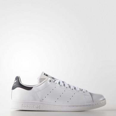 Adidas Originals Stan Smith Zapatos Mujer / Hombre Core Blancas / Azul oscuro M20325