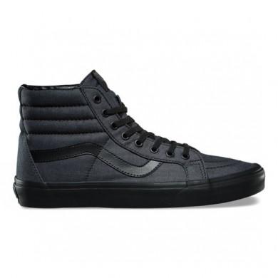 Vans Mono Chambray SK8-Hi Reedición Zapatos Hombre Negro